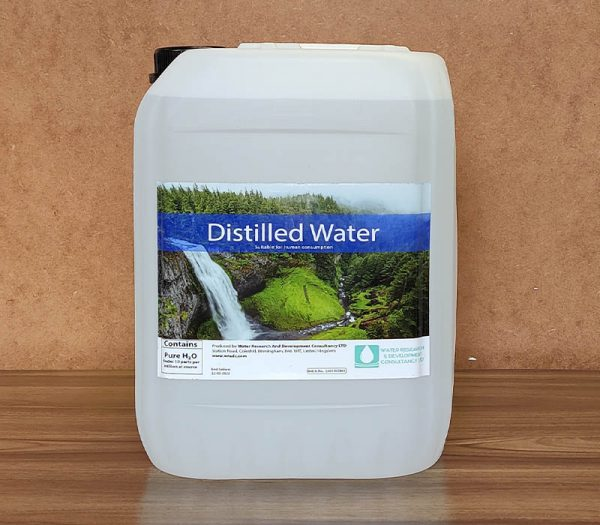 10 litres distilled water