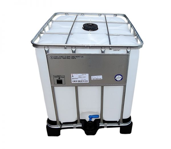 1000 litres of distilled water